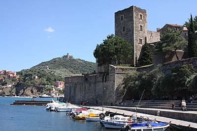 Château Royal in Collioure - Languedoc-Roussillon - Frankreich